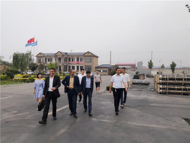 Iran Customers Visit Our Production Line