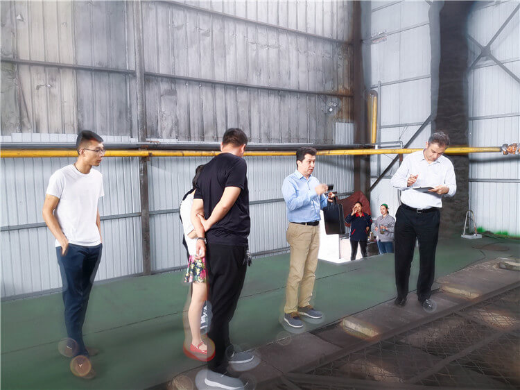 Customers From Turkey Visit